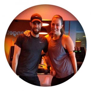 Tyler at orange theory